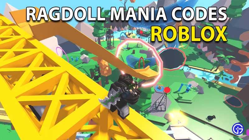 Canjear códigos de Roblox Ragdoll Mania (mayo de 2021)