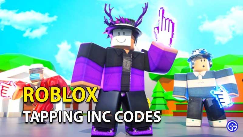 Canjear códigos INC de Roblox Tapping