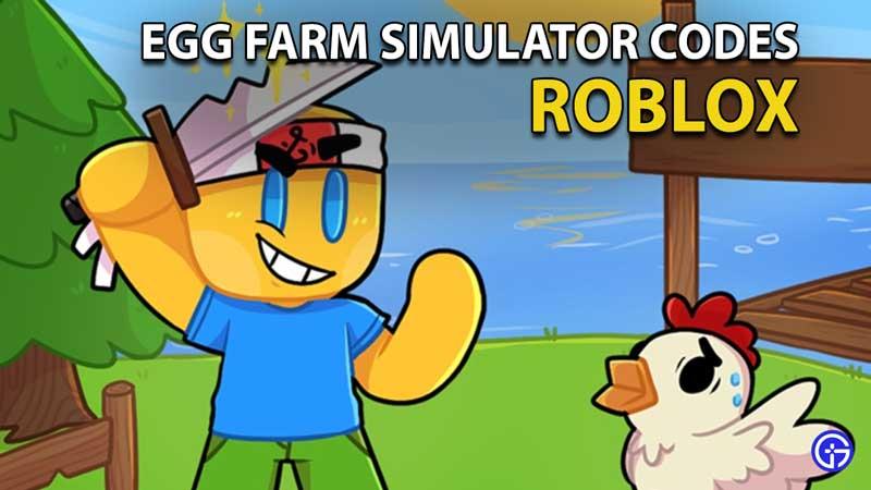 Canjear códigos de Roblox Egg Farm Simulator