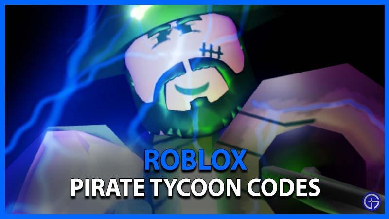 Códigos de Roblox Pirate Tycoon