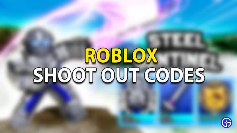 Canjear códigos de Roblox Shoot Out