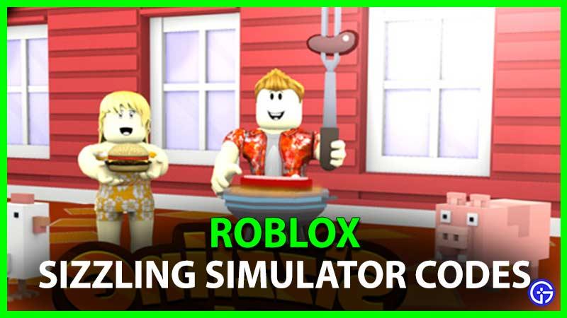 Nuevos códigos de trabajo de Roblox Sizzling Simulator