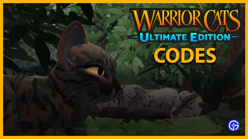 Códigos de Warrior Cats Ultimate Edition