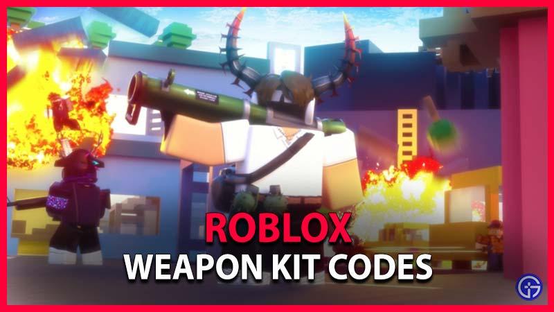 Códigos del kit de armas de Roblox
