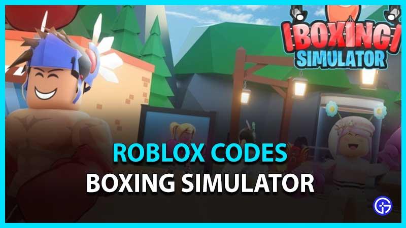 Lista de todos los códigos de Roblox Boxing Simulator
