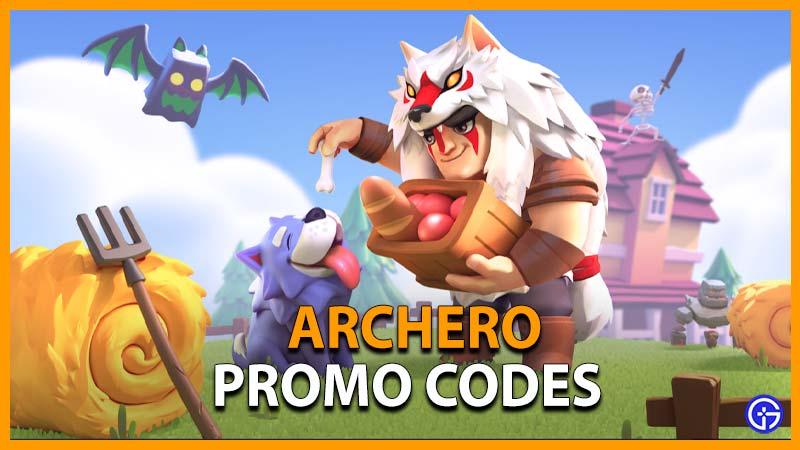 Códigos promocionales de Archero