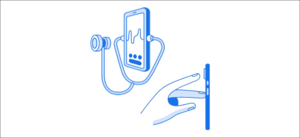 iconos de pulso y respiración de google fit