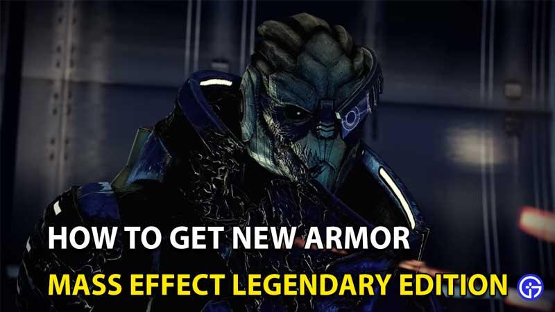Mass Effect Legendary Edition: Cómo conseguir una nueva armadura