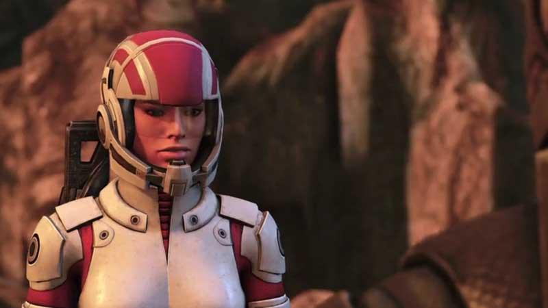 Mass Effect 1 Legendary Edition Ashley guía de romance