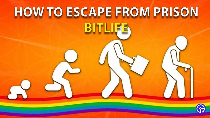 Cómo escapar de la prisión Bitlife