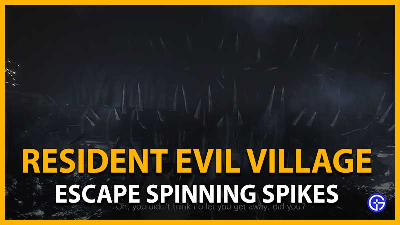 Resident Evil Village: Cómo superar la rueda giratoria