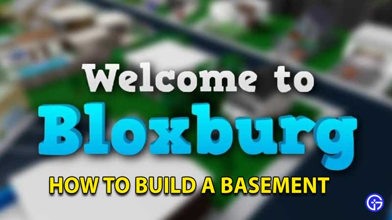 Cómo construir un sótano en Bienvenido a Bloxburg