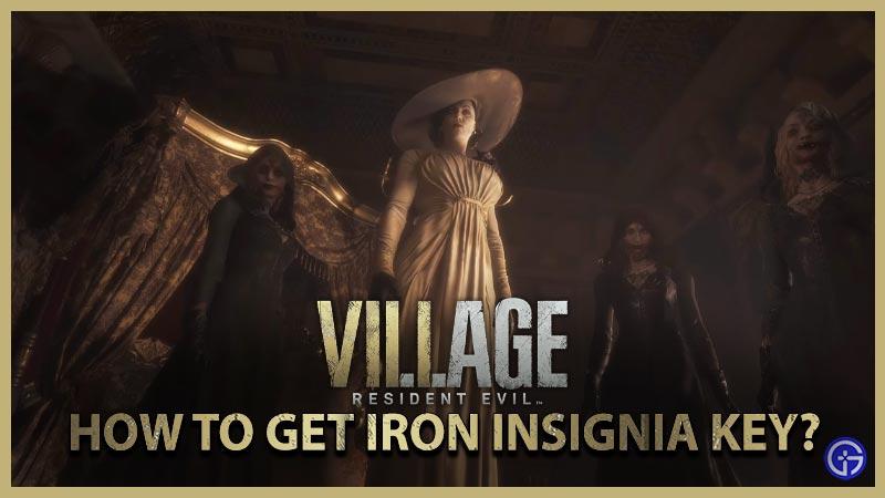 Resident Evil Village Consigue Iron Insignia Key Resuelve el rompecabezas de piano