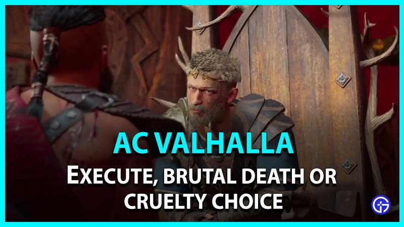 AC Valhalla La ira de los druidas Thorstein Choice
