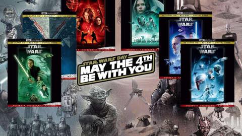 Enorme oferta de Blu-Ray 4K de Star Wars ya disponible para el 4 de mayo