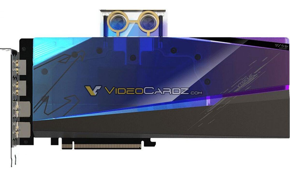 GIGABYTE Radeon RX 6900 XT AORUS Xtreme WaterForce WB en la imagen, basada en XTXH Silicon