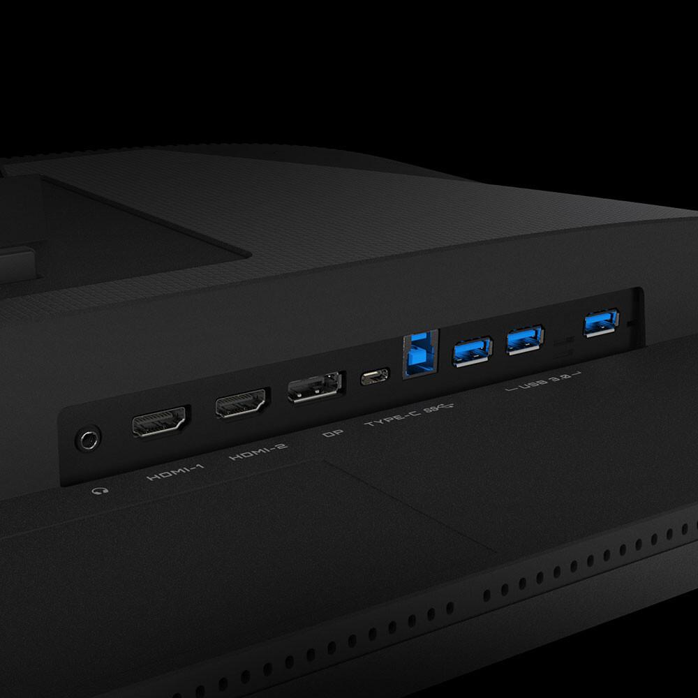 GIGABYTE saca el monitor gamer 4K M28U con KVM integrado