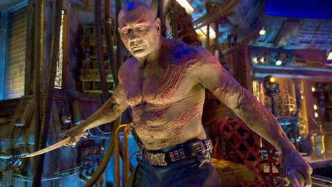 Guardianes de la galaxia vol.  3 probablemente será el último de Drax, dice Dave Bautista