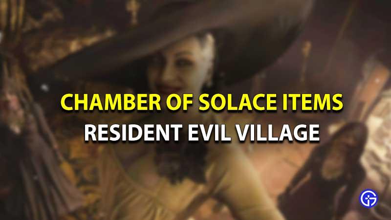 Cámara de consuelo de la aldea de Resident Evil