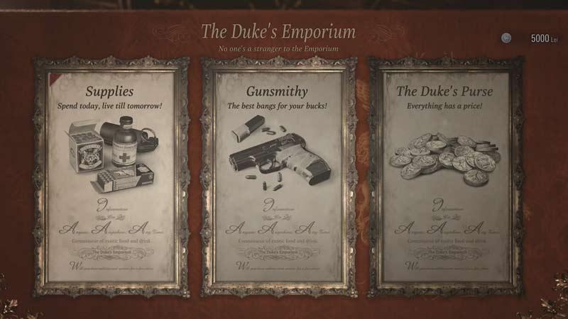 Guía de dinero de Resident Evil Village: cómo obtener más lei