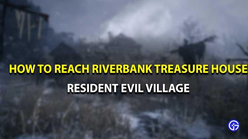 Casa del tesoro de la ribera del pueblo de Resident Evil