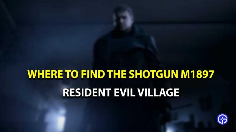 Escopeta de Resident Evil Village