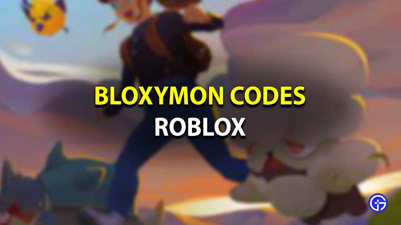 Códigos Roblox Bloxymon