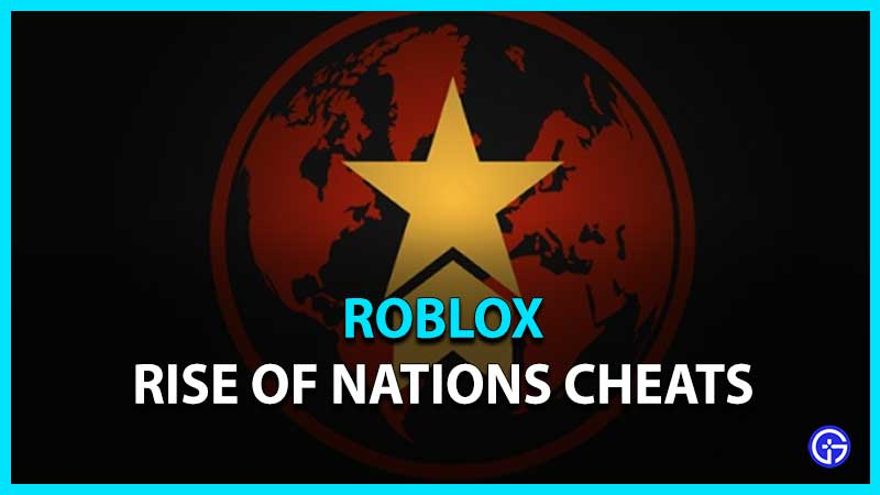 Lista de trucos de Rise Of Nations