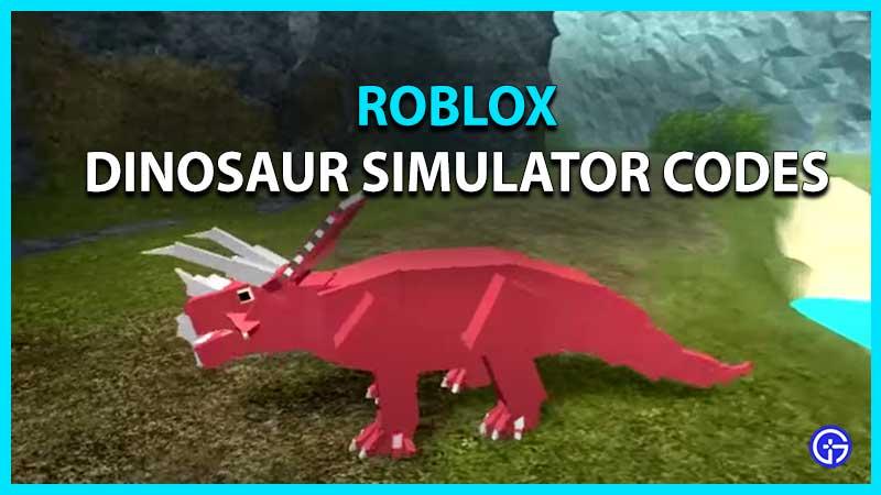 Códigos de Roblox Dinosaur Simulator