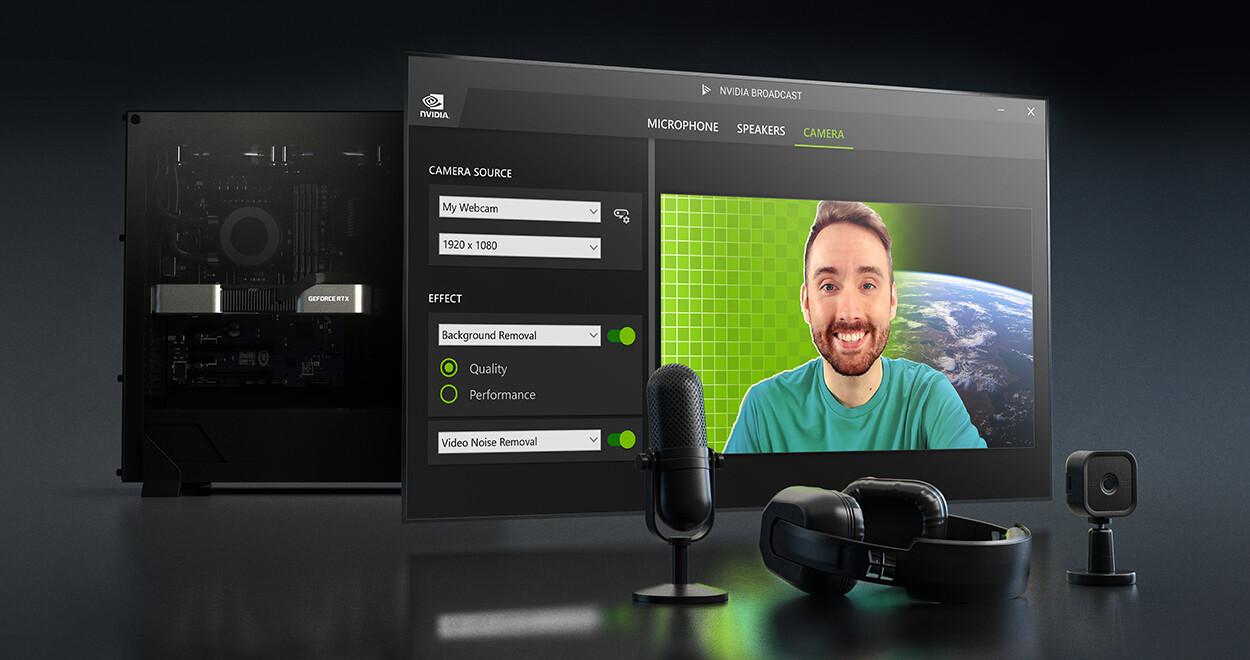 NVIDIA actualiza la transmisión para eliminar el eco de la habitación, el ruido de las mascotas y el ruido del video