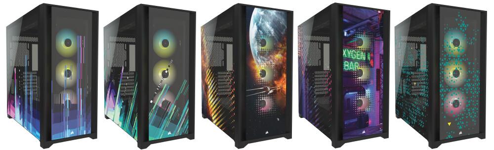 Refrigeración personalizada o estilo personalizado: CORSAIR lanza las cajas de torre central 5000D RGB Hydro X Edition y 5000X RGB SIGNATURE SERIES