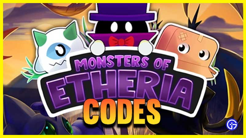 Códigos de Roblox Monsters of Etheria