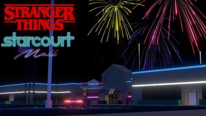 Roblox Stranger Things: Evento Starcourt Mall 2021