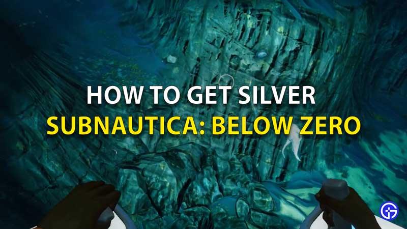 Cómo conseguir plata en Subnautica por debajo de cero