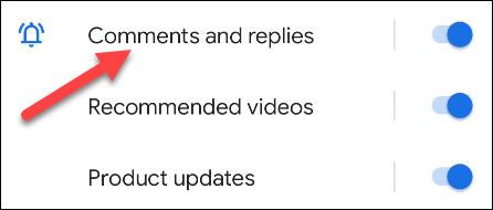 Alternativamente, elija un canal de notificación