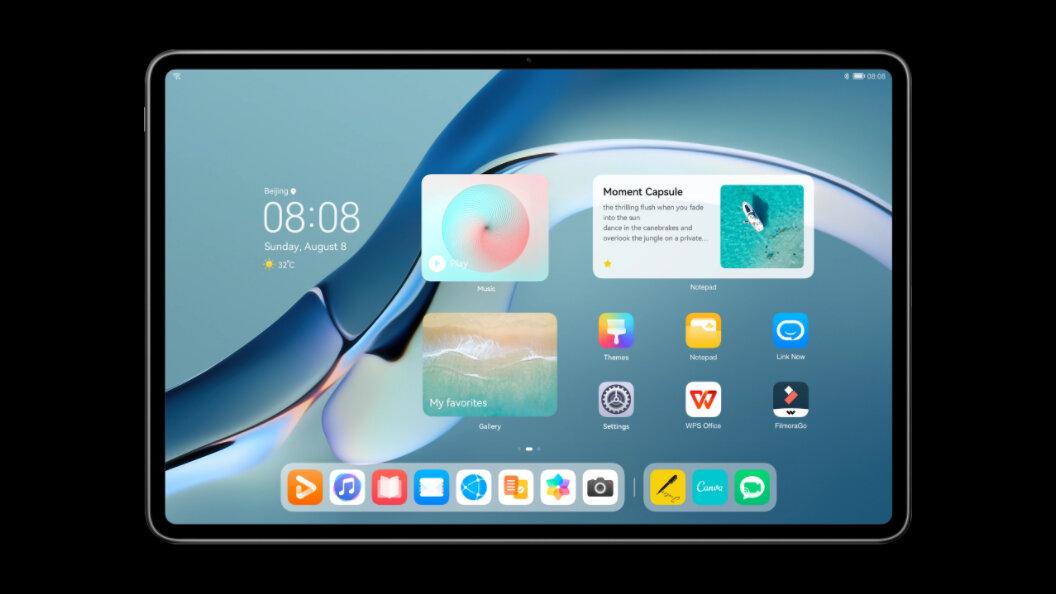 Nueva pantalla de inicio en HarmonyOS