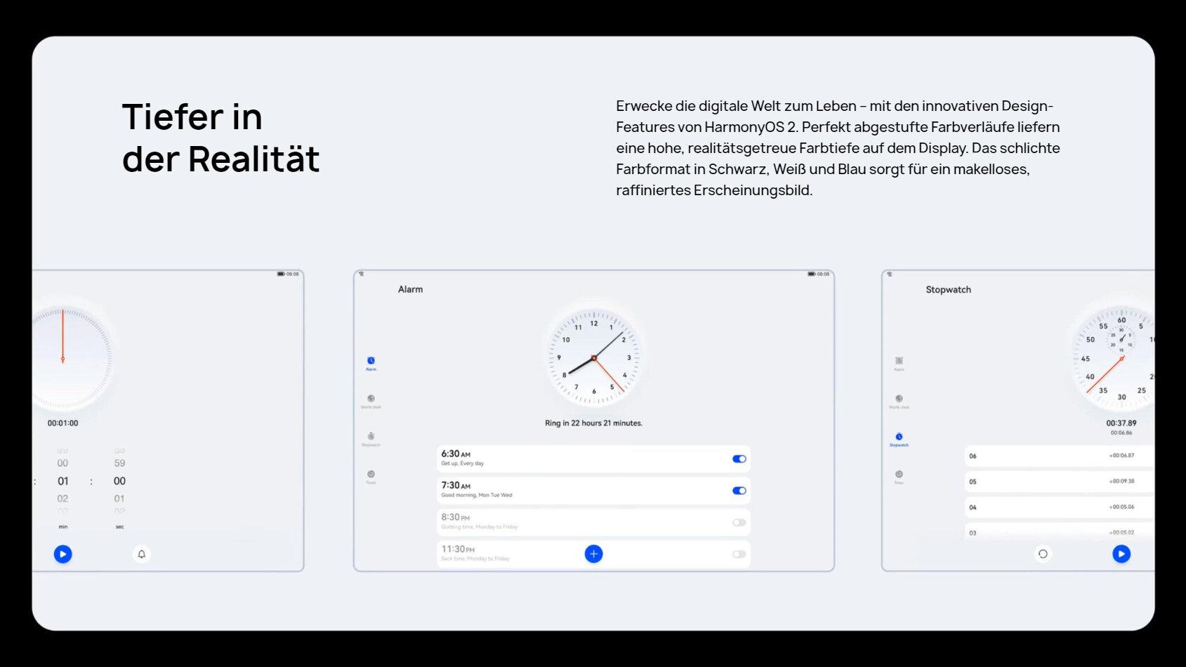 Nuevos aspectos de diseño en HarmonyOS