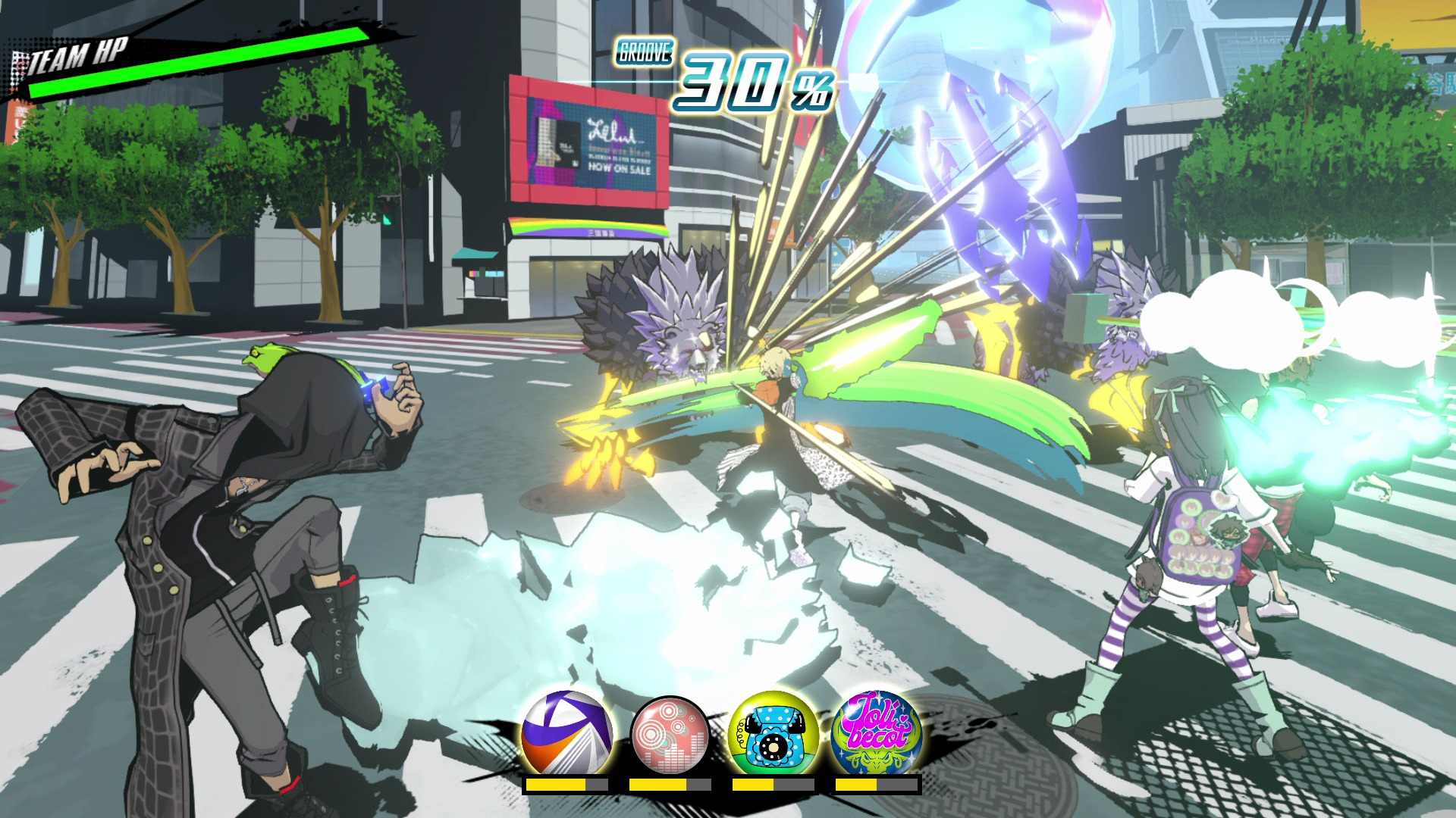 pantalla de batalla juego de square enix