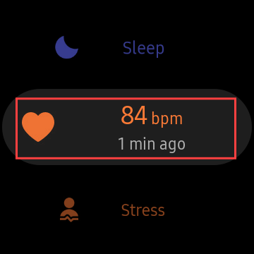 seleccionar frecuencia cardíaca