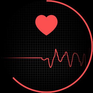 seguimiento de la frecuencia cardíaca en curso