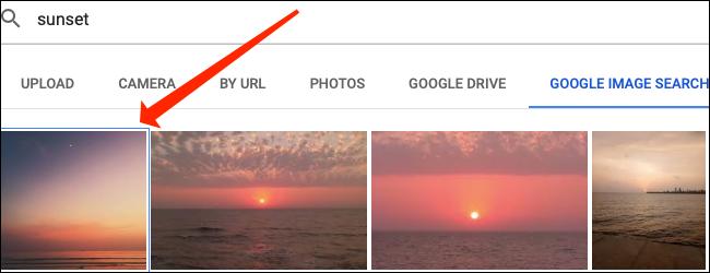 Haga doble clic en la imagen que desea insertar en una celda dentro de Hojas de cálculo de Google.