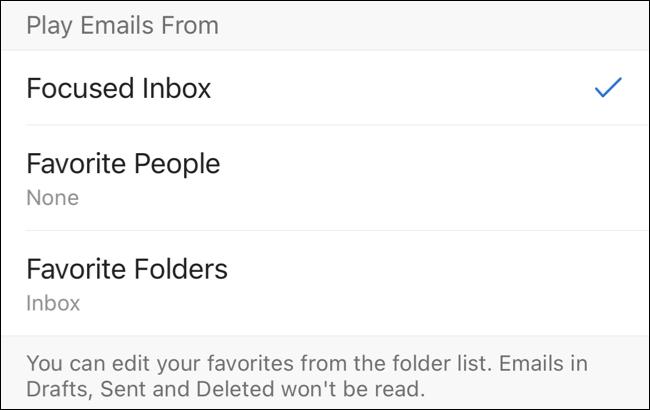 Reproducir correos electrónicos de