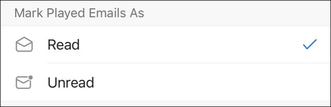 Marcar correos electrónicos reproducidos como