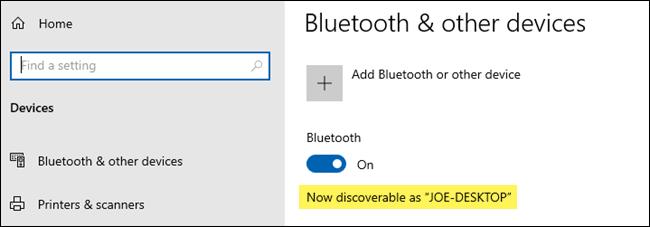 Asegúrese de que el Bluetooth de su dispositivo receptor sea detectable