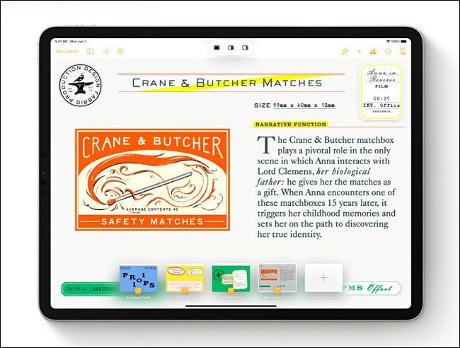 The Shelf y Multitasking en iPadOS 15.