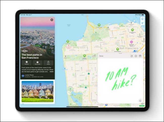 Notas rápidas sobre iPadOS 15.