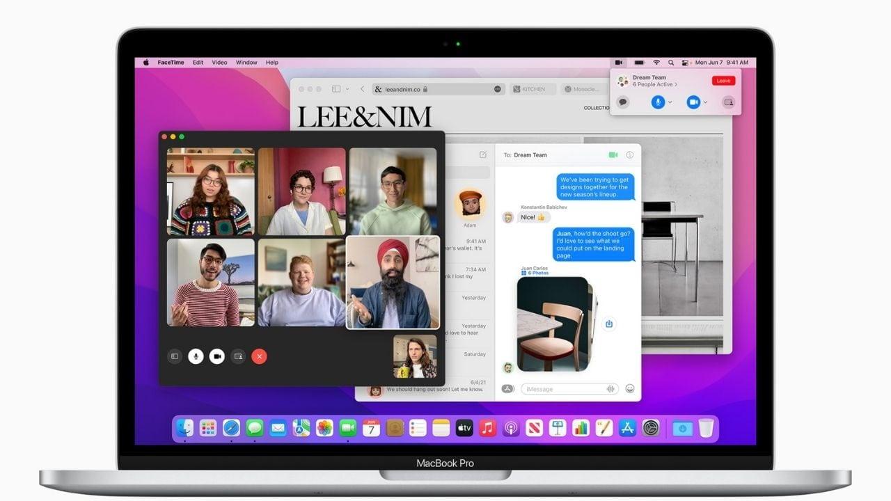 MacOS 12 se llama macOS Monterey, y la mayor actualización viene con Safari.  Imagen: Apple