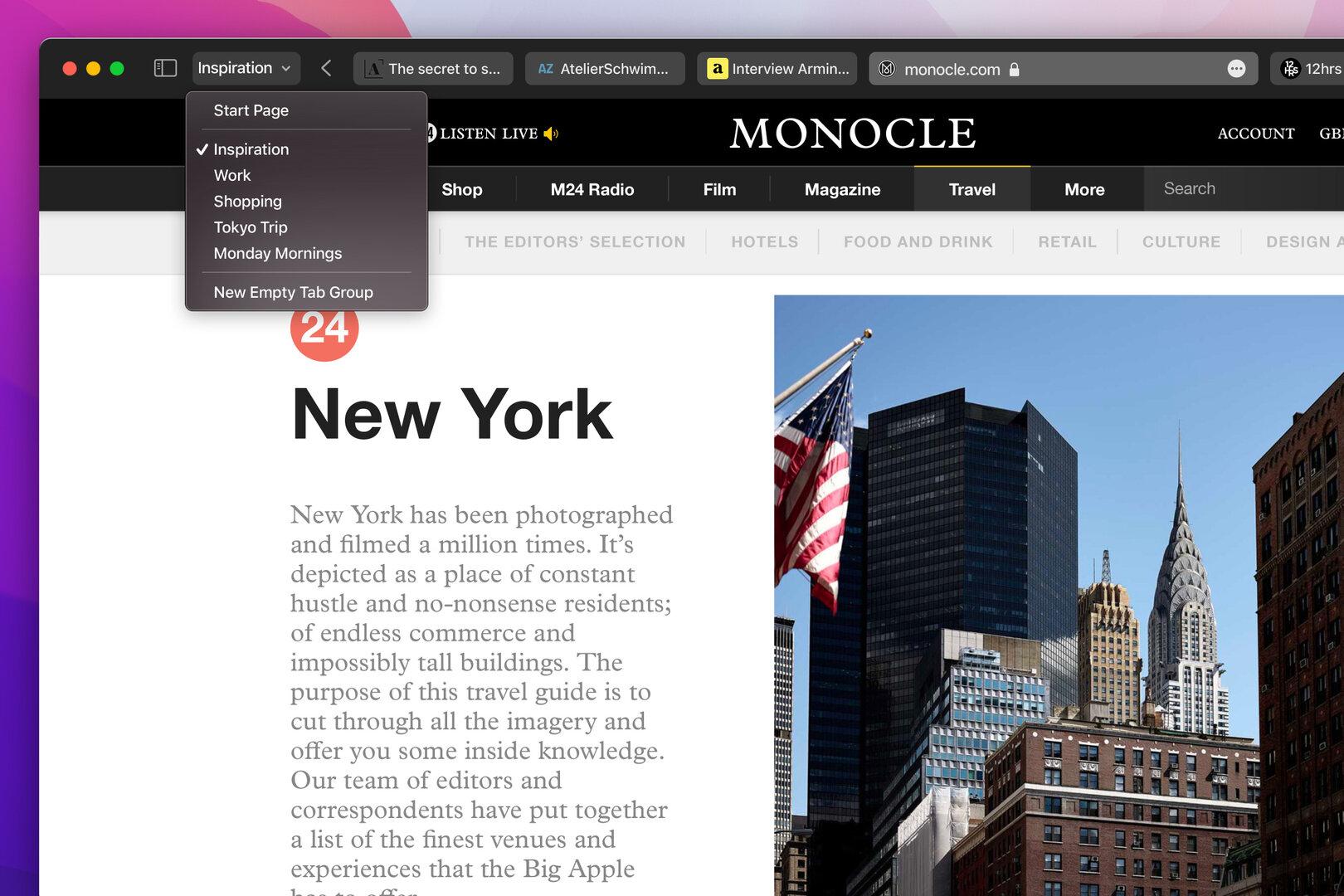 Safari se vuelve aún más compacto con macOS Monterey, iOS 15 y iPadOS 15