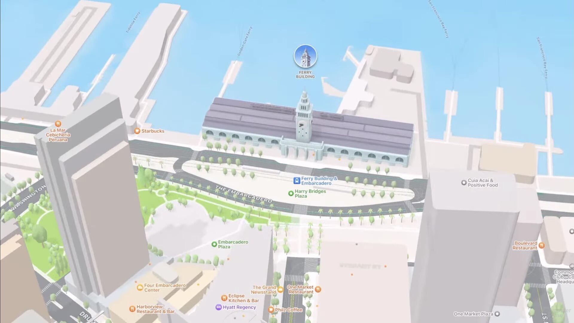 Edificio SF Ferry (iOS 15)