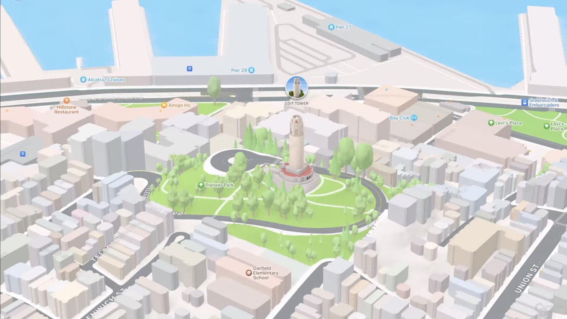 SF Telegraph Hill (iOS 15)